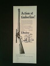1967 Action at Timberline Daisy BB Pump Gun Western Cowboy Air Rifle Toy AD