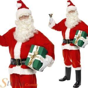 de luxe Costume Père Noël déguisement adulte hommes   eBay c95106a71e4f
