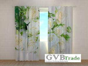 Vorhang Fotodruck fotogardinen weiße fotovorhang vorhang gardinen 3d qualität