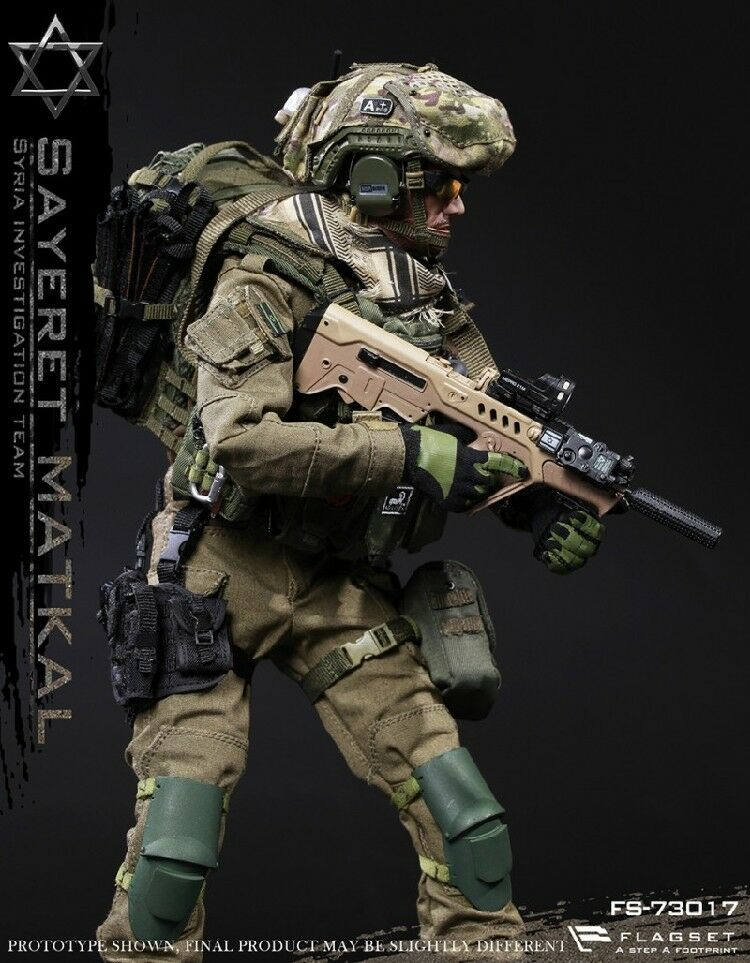 FLAGSET 1/6 Israel Wild Boy Special Forces Syrian Action Figure Model Toy