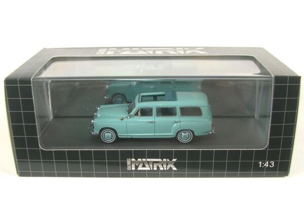 MERCEDES-BENZ Binz w120 180b Station wagon (verde) 1960