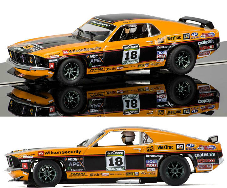 Scalextric Ford Mustang Boss 302 Clipsal 2011 John Bowe Slot Car 1 32 C3671 DPR
