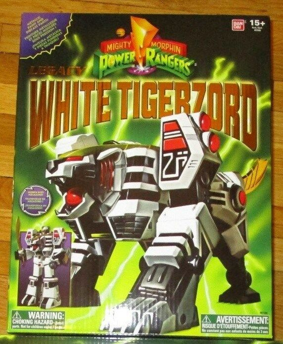 Mighty Morphin Power Rangers Legacy Weiß TIGERZORD MEGAZORD