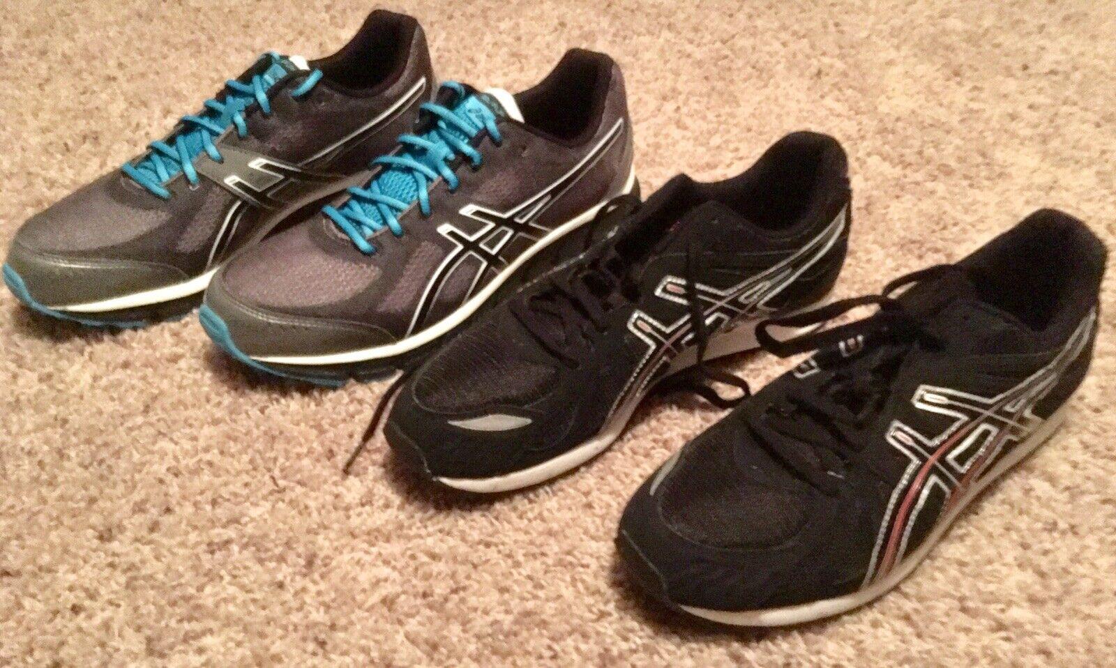 Asics Gel Flash  Run scarpe   2 Pair Men 65533;s sz 12 US NIB  alta qualità generale