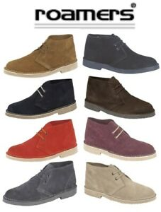 BOYS GIRLS Real Suede Desert Boots