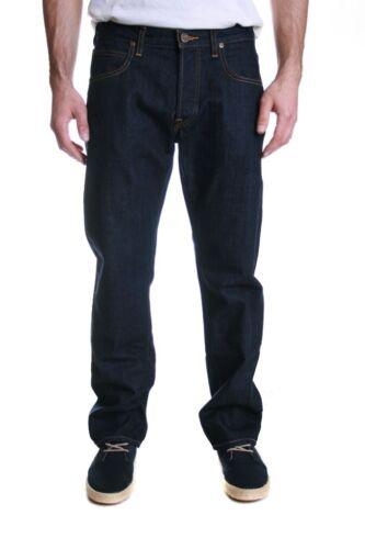 Lee Blake Jeans taglio dritto regolare in un lavaggio risciacquo vendita RRP £ 85 50/% di sconto