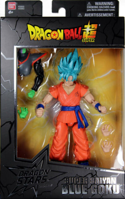 Dragon Stars Series 3 ~ SUPER SAIYAN BLUE GOKU ACTION FIGURE ~ Dragonball Z DBZ