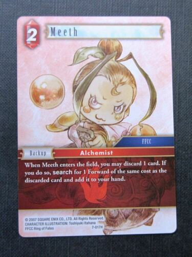Final Fantasy Cards # 4I28 Meeth 7-017H