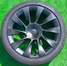 New Listingfactory Tesla Induction Wheels Tires Genuine Oem Model Y Performance 20 Inch Set