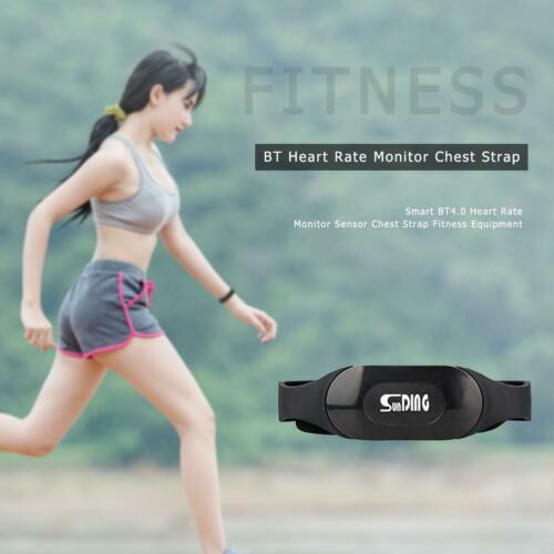 Herzfrequenzgurt Brustgurt Pulsmonitor Heart Rate Monitor Bluetooth4.0 Sport Neu