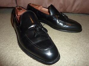 Vintage Us Made Sz 10m Austin Reed Of Regent Street Black Tassel Dress Loafers Ebay