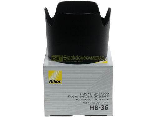 Nikon paraluce HB-36 per AF-S 70//300mm ORIGINALE! VR