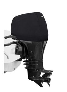 Schwarze wasserdichte Marine Außenbord Schutz Abdeckung für 2 15 HP