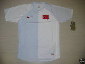 0637 Nike Turquie Taille M Tricot Haut Haut Turquie Jersey Match Tee