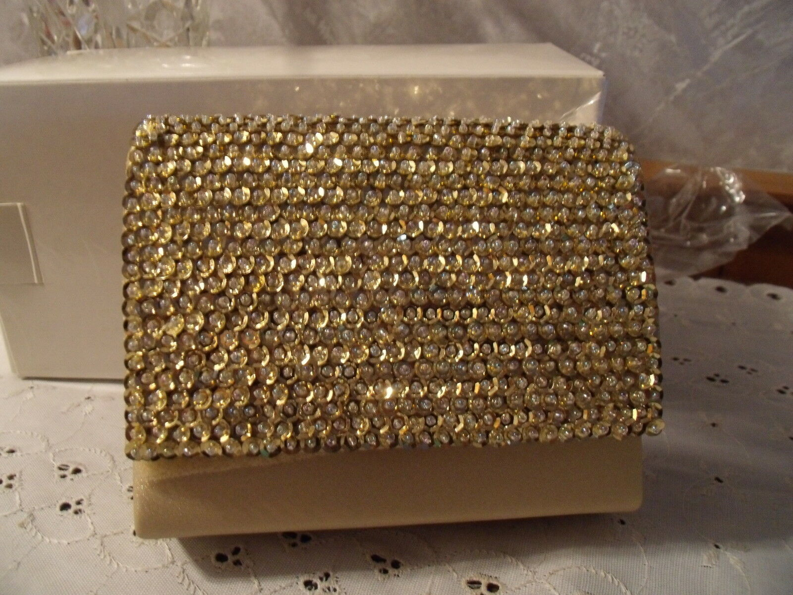 SEQUIN PURSE CLUTCH EVENING OR WEDDING FORMAL CHOOSE 1 FROM RED, BLUE, SILVER
