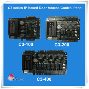 Access Control Kits Active Biometric C3-200 Access Control Panel 2 Doors Access Control Board With Wiegand Reader Electronic Lock Card Register Id Card