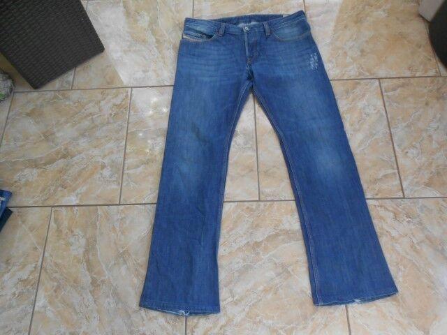 H2420 Diesel TROUELEG Jeans W34 MitElblau  Gut        Vorzüglich  1a1bf1