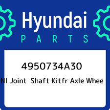 Genuine Hyundai 49507-29M10 Axle Wheel Joint and Shaft Kit Front