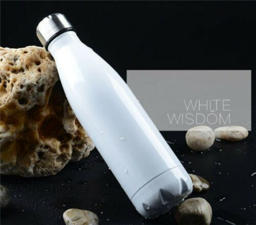 1L Edelstahl Thermosflasche Trinkflasche Isolierflasche Sport Wasserflasche DHL