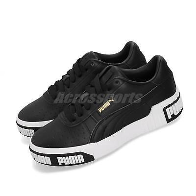 Puma Cali Bold Wns Black Gold White Women Casual Fashion Shoes Sneaker  370811-03 | eBay