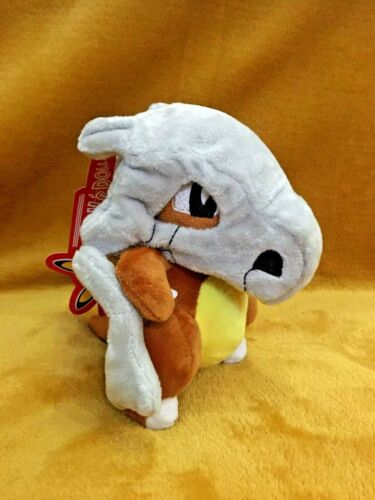 "Pokemon Cubone 7/"" 17.5cm Plush Soft Toy Teddy BRAND NEW /& Tagged"