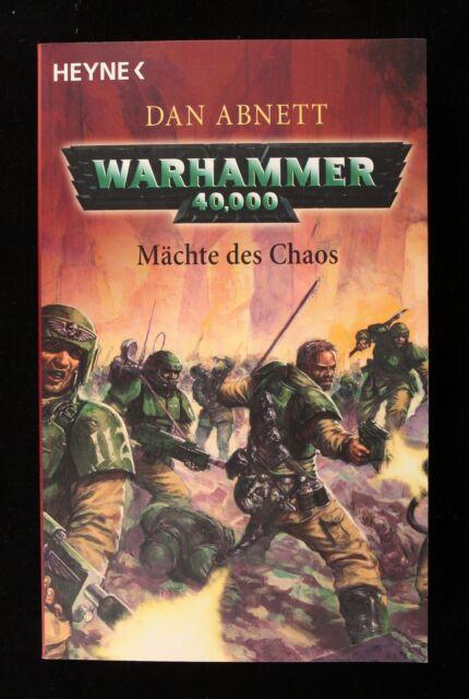 Warhammer 40. 000. Mächte des Chaos von Dan Abnett (2005, Taschenbuch)