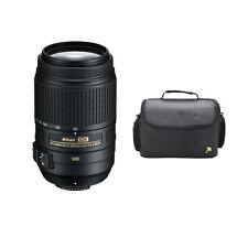 Nikon AF-S 55-300mm f/4.5-5.6G VR + SLR Case for D5500 D5300 D5200 D5100 D7100