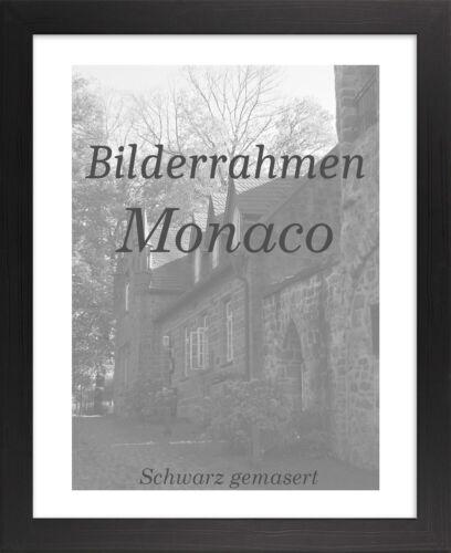 Bilderrahmen Monaco 44x68 cm Foto Poster Puzzle Galerie 68x44 cm