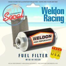 Weldon Racing Weq1010ssn 10an 10 Micron Stainless Fuel Filter Filter Assembly