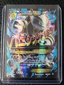 Mega-M-Mewtwo-EX-159-162-Full-Art-Ultra-Rare-Holo-BREAKthrough-Pokemon-Card