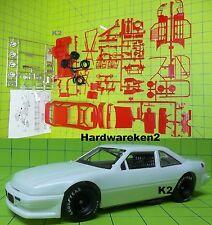 DONOR NASCAR 1988-1990 PONTIAC GRAND PRIX STOCK CAR MODEL KIT - RED - 1/24 Scale