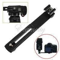 Flashgun Flash Arms Bracket Stand Mount Hot Shoe DC Camera For DSLR SLR Cameras