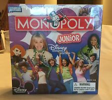 Monopoly Junior The Disney Channel Edition, Hasbro, 2007, Brand New, Mint