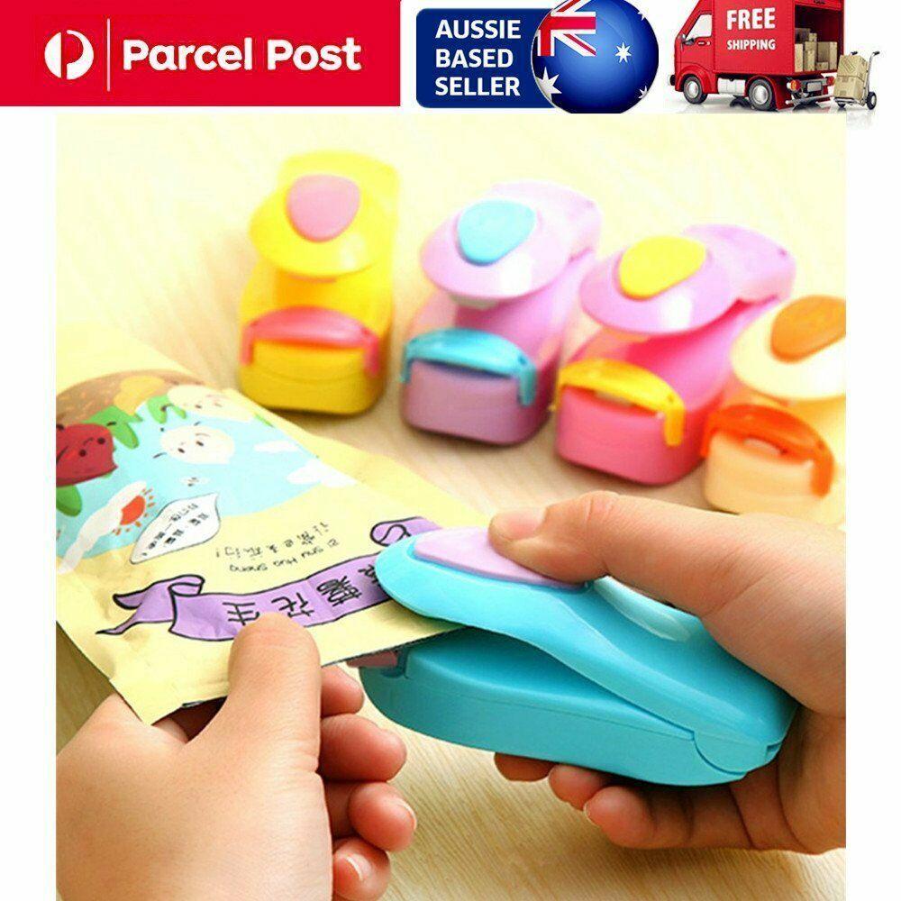 Mini Portable Handheld Heat Sealing Machine Plastic Bag Sealer Seal Tool \~