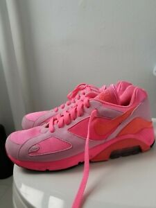 Details about Nike Air Max 180 CDG US 7 AO4641 602 Comme Des Garcons pink laser solar