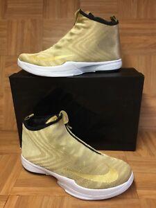 half off aabb5 35077 Image is loading RARE-Nike-Zoom-Kobe-Icon-Jacquard-Metallic-Gold-