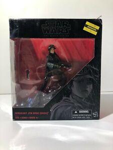 """Star Wars Black Series 6/"""" Sergeant Jyn Erso Eadu Hasbro LOOSE"""
