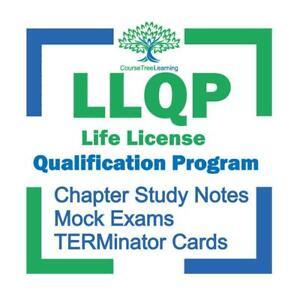 LLQP & HLLQP Life License Qualification Program Exam Prep Textbook Study Kit Ontario Preview