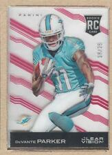 DeVante Parker 112 2015 Panini Clear Vision Red SP RC 18/25 (NrMt/Mt)