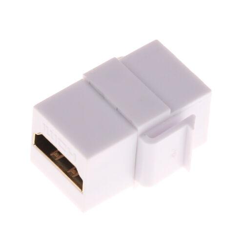 HDMI Keystone Jack Coupler Insert Female to Female Adapter Converters TDCA LL