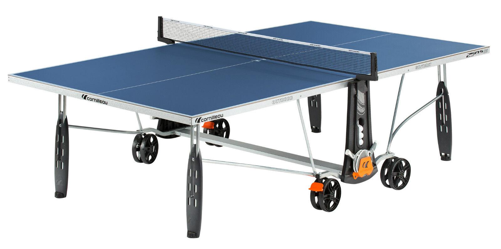 132655 CORNILLEAU Sport 250S Outdoor Weatherproof Table Tennis Table bluee