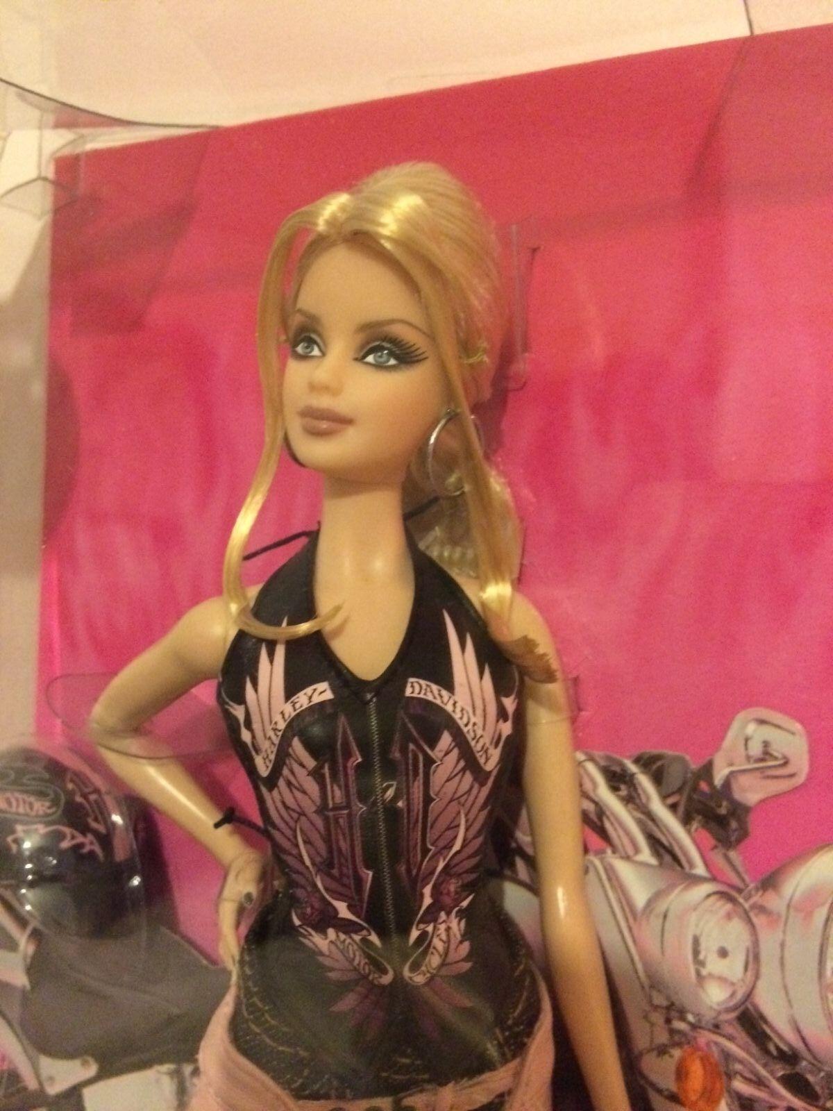 rosado LABEL, 2008 Harley Davidson Barbie mai tolto dalla scatola