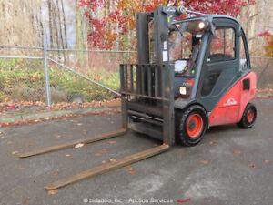 2005-Linde-H35T-LPG-7-000-lb-Warehouse-Industrial-Forklift-Truck-Cab-A-C-bidadoo