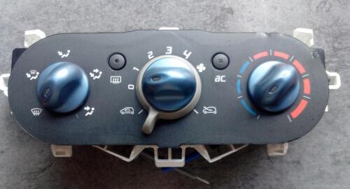 69837341 Commande clim climatisation chauffage Twingo 2 ref 69837001 ; 0991283K
