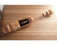 Alter Flaschen Verkorker Wein Winzer Antik Werkzeug Handverkorker Holz