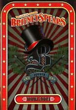 BRITNEY SPEARS 2009 CIRCUS TOUR CONCERT PROGRAM BOOK