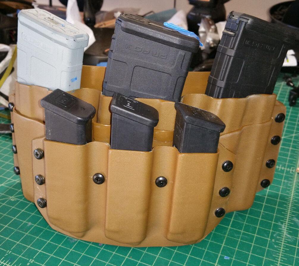 Se adapta a un Glock .40 9mm pmags Combinación Rifle Y Pistola Bolsa