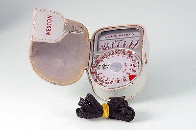Belichtungsmesser Herzhaft Photometer Weston Master V Mod 748 Light Meter Selen Good Gemacht In Uk Gut Verkaufen Auf Der Ganzen Welt