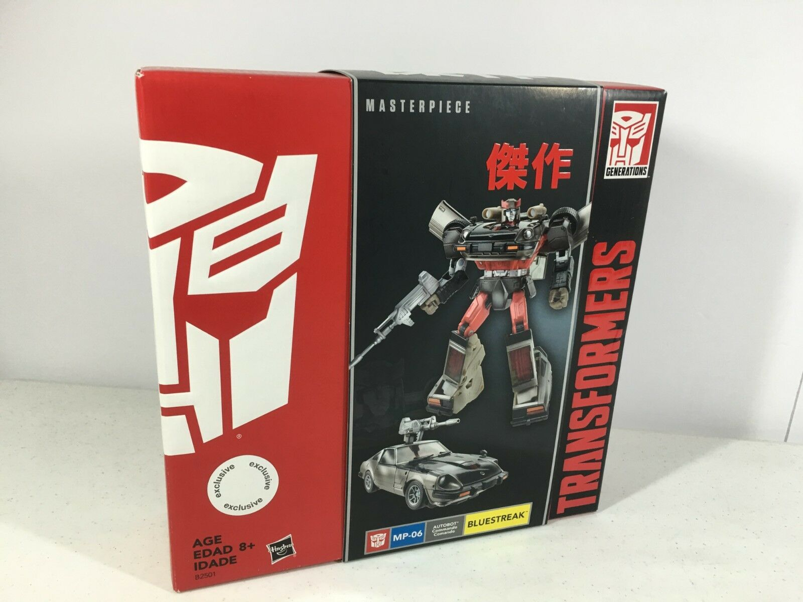 Transformers Masterpiece MP-06 bleustreak Authentique Tru