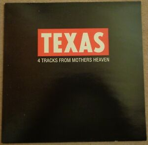 Texas-4-Tracks-From-Mothers-Heaven-promotional-sampler-12-inch-vinyl